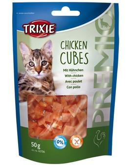 TRIXIE snack premio cubes kuřecí kostičky 50 g