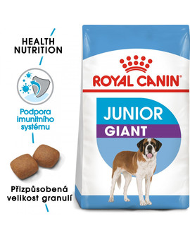 ROYAL CANIN  Giant Junior 15 kg + 3kg zdarma granule pro obří štěňata