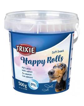 TRIXIE Soft snack Happy Rolls tyčinky s lososem 500 g