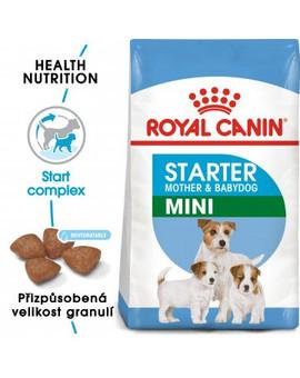 ROYAL CANIN Mini Starter Mother&Babydog  1 kg granule pro březí nebo kojící feny a štěňata