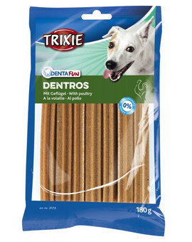 TRIXIE Dentafun Dentros light kuřecí tyčky 7 ks / bal. 180 g