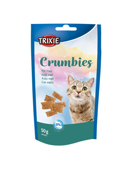 TRIXIE Crumbies se sladem pro kočku 50 g