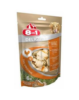 8IN1 Pamlsek Delights Bone S - balení 6ks