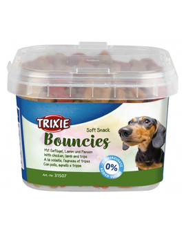 TRIXIE Soft Bits Kostičky s kuřecím/jehněčím/ dršťkami 140 g