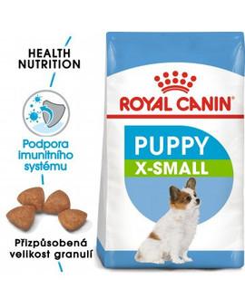 ROYAL CANIN X-Small Puppy 1.5 kg granule pro trpasličí štěňata