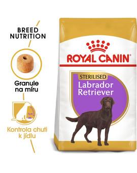 ROYAL CANIN Labrador adult sterilised 3 kg granule pro dospělého, kastrovaného labradora