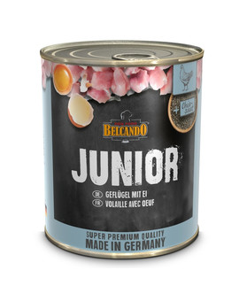 BELCANDO Junior Drůbeží a vejce 800 g