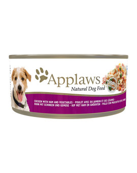 APPLAWS Dog kuře, šunka a zelenina 156g