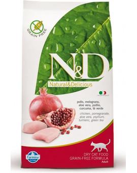 N&D Grain Free Cat Adult Chicken & Pomegranate 1,5kg