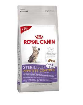 ROYAL CANIN Sterilised 7+ appetite control 0.4 kg