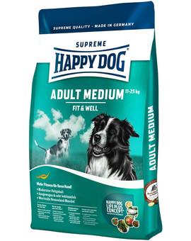HAPPY DOG Fit & well adult medium 4 kg