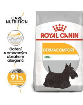 ROYAL CANIN Mini dermacomfort 800g granule pro malé psy s problémy s kůží