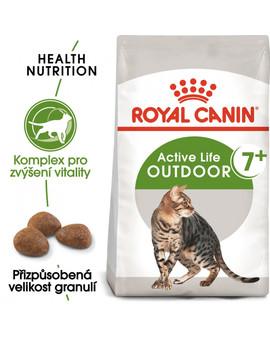 ROYAL CANIN Outdoor 7+ 2 kg granule pro stárnoucí kočky s častým pohybem venku