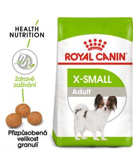 ROYAL CANIN X-Small adult 500g granule pro dospělé trpasličí psy