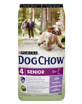 PURINA Dog chow senior jehněčí 14 kg