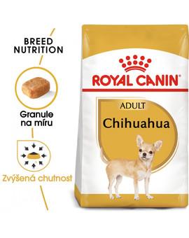ROYAL CANIN Chihuahua Adult 1.5 kg granule pro dospělou čivavu