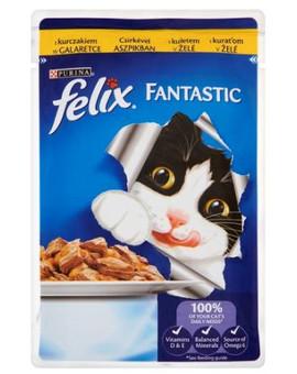 FELIX Fantastic s kuřecím masem v želé 100g