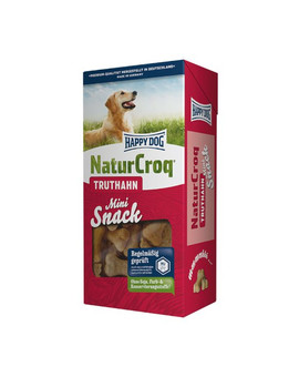 HAPPY DOG Natur Snack Mini krůtí 350 g