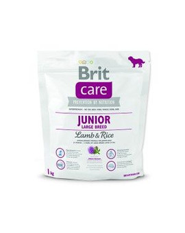 BRIT Care Dog Junior Large Breed Lamb&Rice 1kg