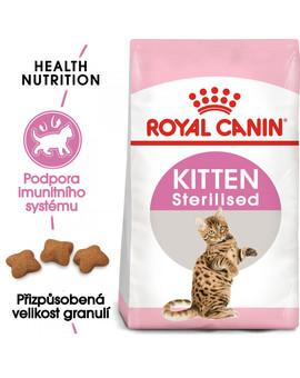 ROYAL CANIN Kitten Sterilised 2kg granule pro kastrovaná koťata