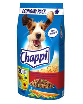 CHAPPI Hovězí a drůběž 9 kg