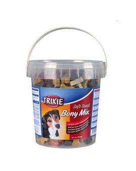 TRIXIE Soft snack pro psa kostky mix hovězí, jehněčí, losos, kuře 500 g