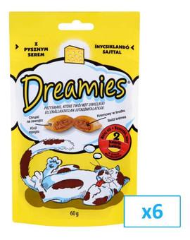 DREAMIES se sýrem 0.06 kg x6