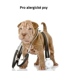 Veterinární krmivo pro alergické psy