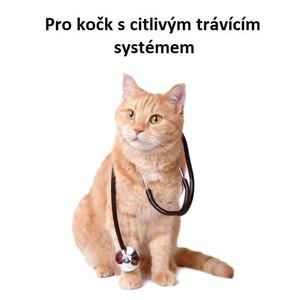 Pro kočk s citlivým trávícím systémem