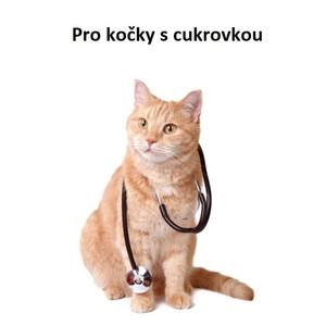 Veterinární krmivo pro kočky s cukrovkou