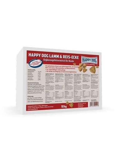 HAPPY DOG Lamm&Rice-Ecken 10kg