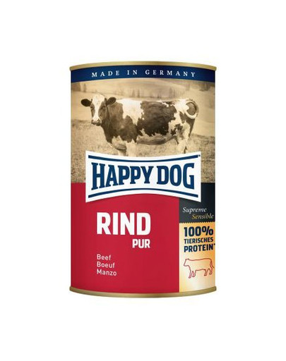 HAPPY DOG Rind Pur Hovězí 800 g