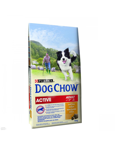 NESTLE Purina dog chow active chicken 14 kg