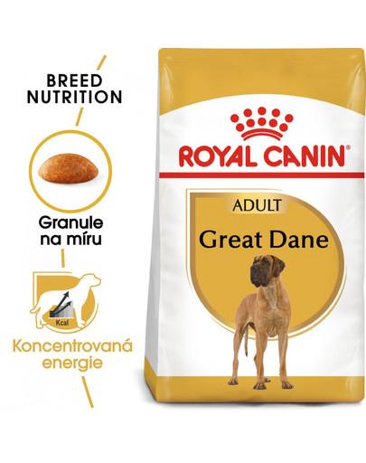 ROYAL CANIN Great Dane Adult 12 kg granule pro německou dogu