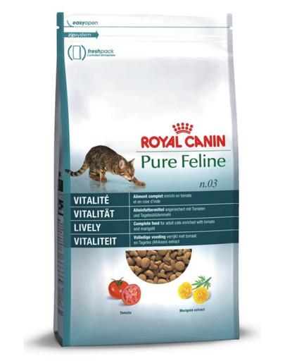 ROYAL CANIN Pure feline n.03 (vitálnost) 8 kg