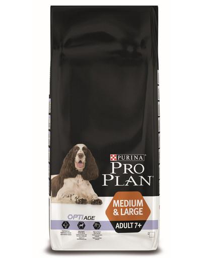 PURINA PRO PLAN Medium & Large Adult 7+ OPTIAGE s kuřetem 14 kg