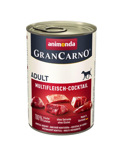 ANIMONDA GranCarno Adult masový kokteil 400 g