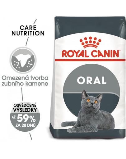 ROYAL CANIN Oral Care 400g granule pro kočky snižující tvorbu zubního kamene