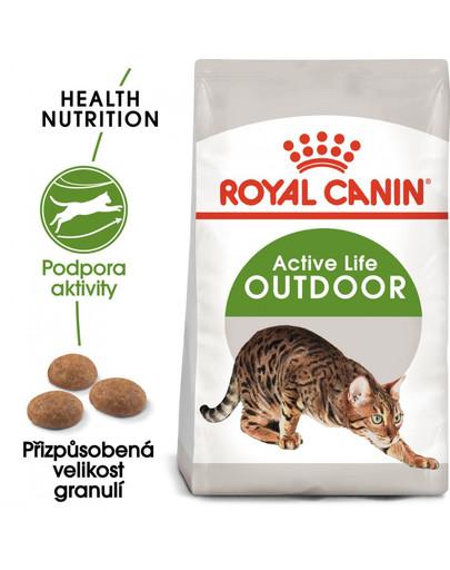 ROYAL CANIN Outdoor 10 kg granule pro kočky s častým pohybem venku