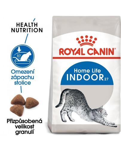ROYAL CANIN Indoor 10 kg granule pro kočky žijící uvnitř