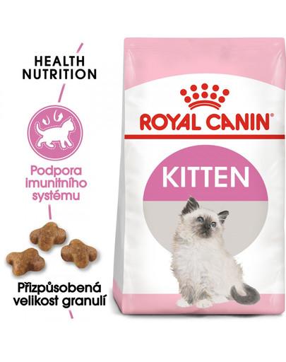 ROYAL CANIN Second Age Kitten 400g granule pro koťata