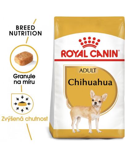 ROYAL CANIN Chihuahua Adult 500g granule pro dospělou čivavu
