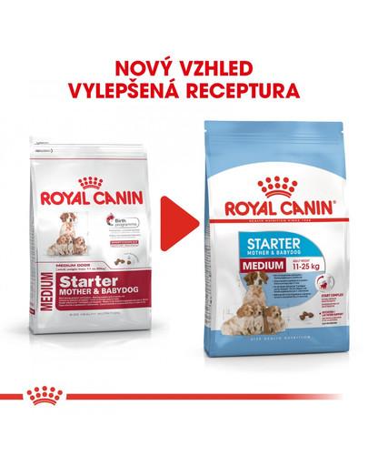 ROYAL CANIN Medium Starter Mother&Babydog 4 kg granule pro březí nebo kojící feny a štěňata