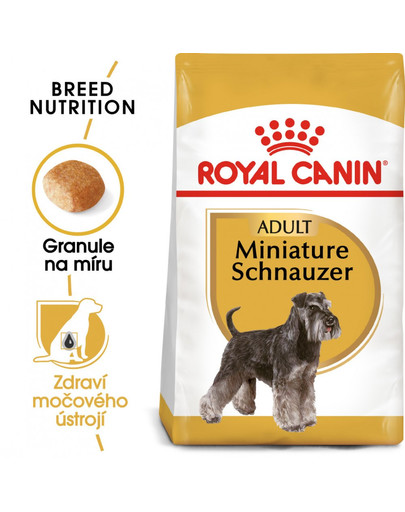 ROYAL CANIN Schnauzer Adult 7.5 kg granule pro dospělého knírače