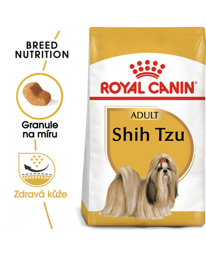 ROYAL CANIN Shih Tzu 500g granule pro dospělého Shih Tzu