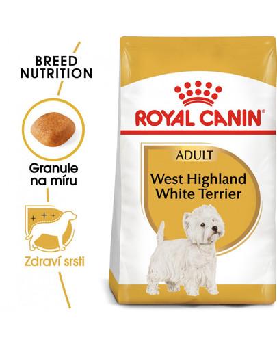 ROYAL CANIN Westie Adult 500g granule pro dospělého westíka