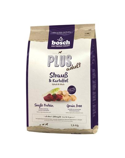 BOSCH Plus Pštros + brambory 2,5 kg