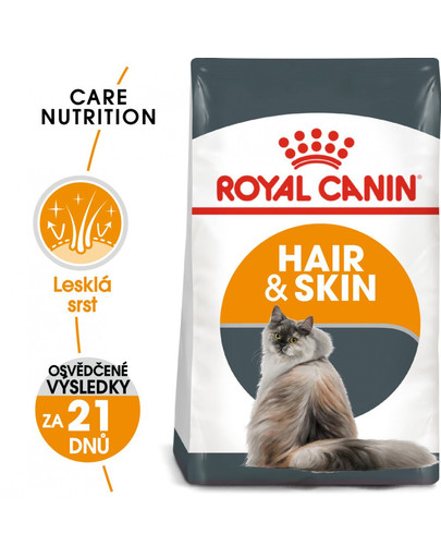 ROYAL CANIN Hair and Skin Care 400g granule pro kočky pro zdravou srst a kůži