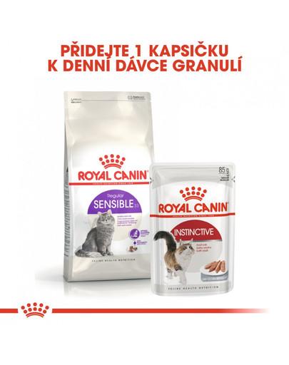 ROYAL CANIN Sensible 2kg granule pro kočky s citlivým zažíváním