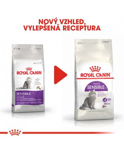 ROYAL CANIN Sensible 4kg granule pro kočky s citlivým zažíváním